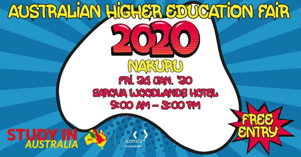 Australian Higher Education Fair January 2020, Nakuru