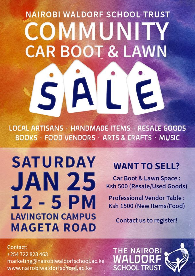 Community Car Boot & Lawn Sale