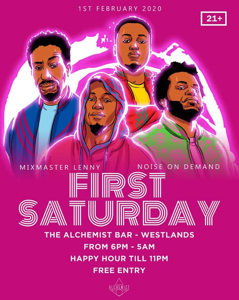 First Saturday w/ Mixmaster Lenny & NOD