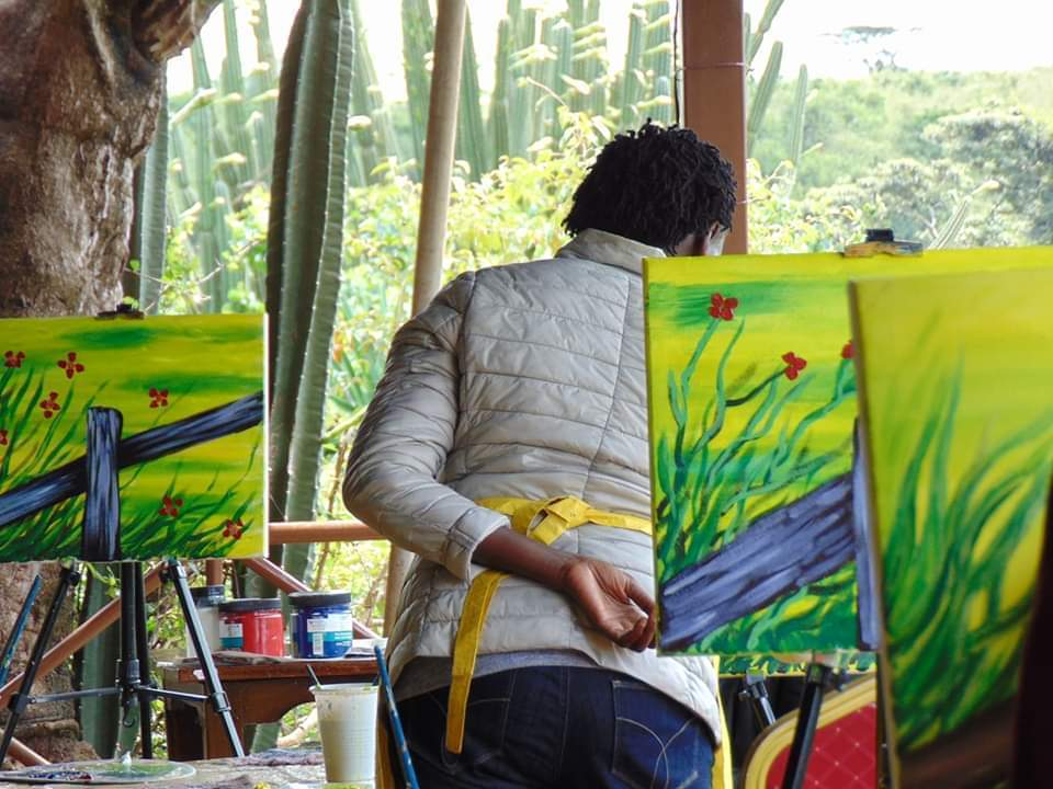 Art in the Park Painting Session