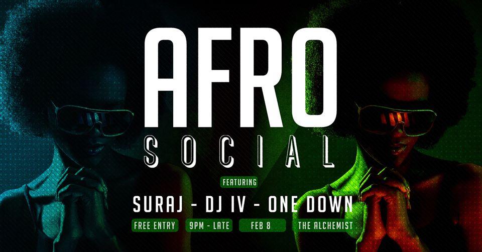 AfroSocial: Feb Edition