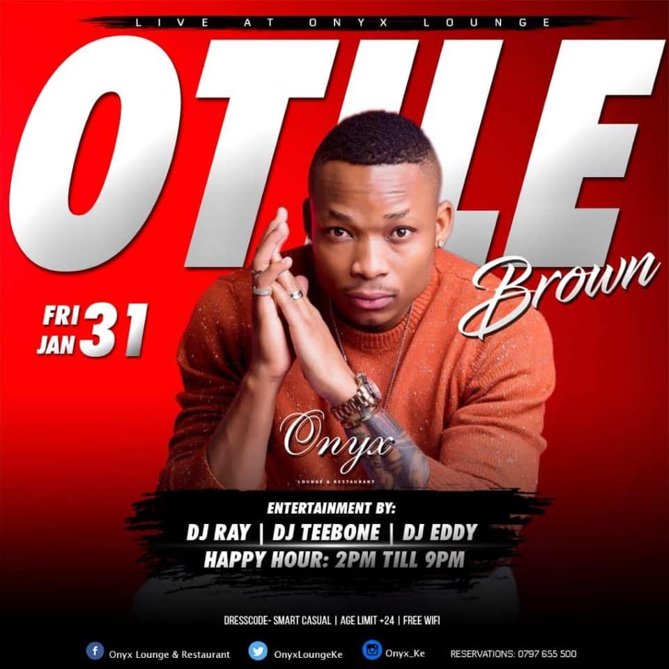 Otile Brown Live