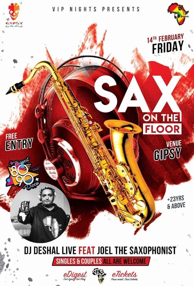 Sax on the Floor