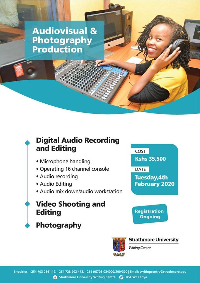 Audiovisual and Photography Production Course