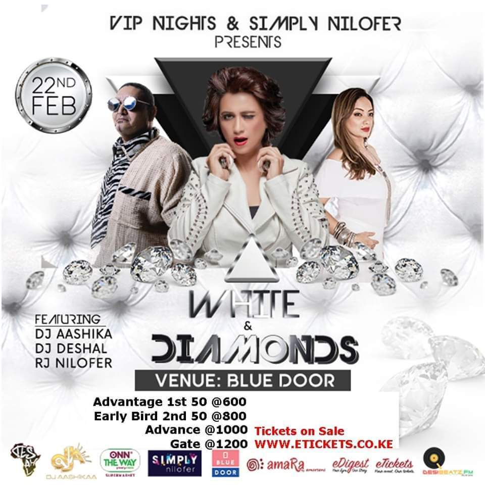 White & Diamonds VIP Night