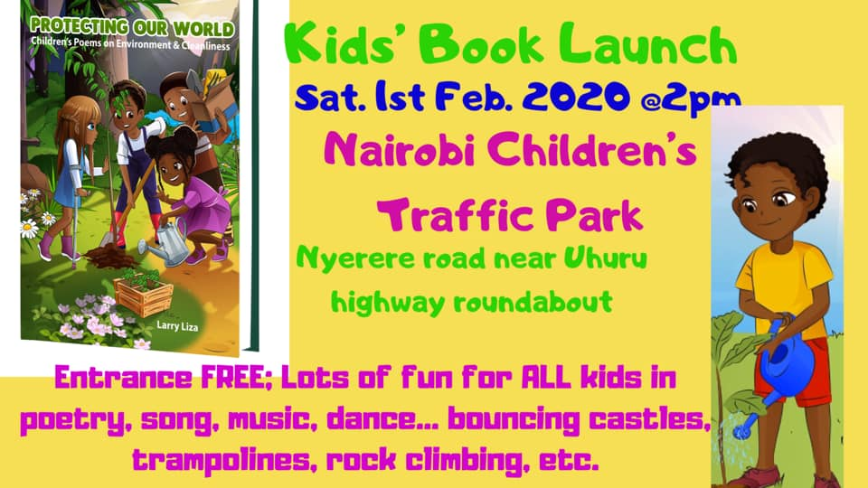 Kids Book Launch Party: 'Protecting Our World'