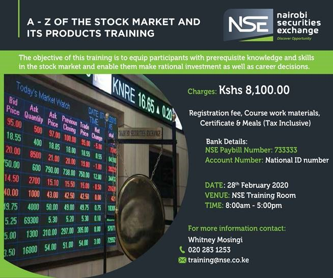A-Z of the Stock Market & It's Products Training
