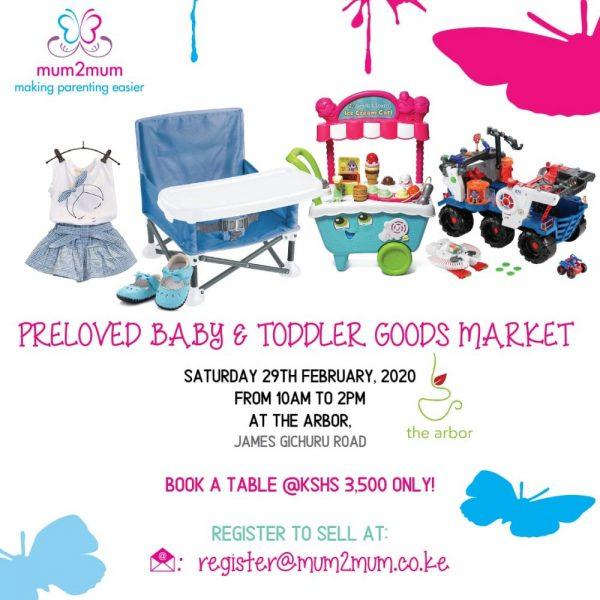 Preloved Baby & Toddler Goods Market