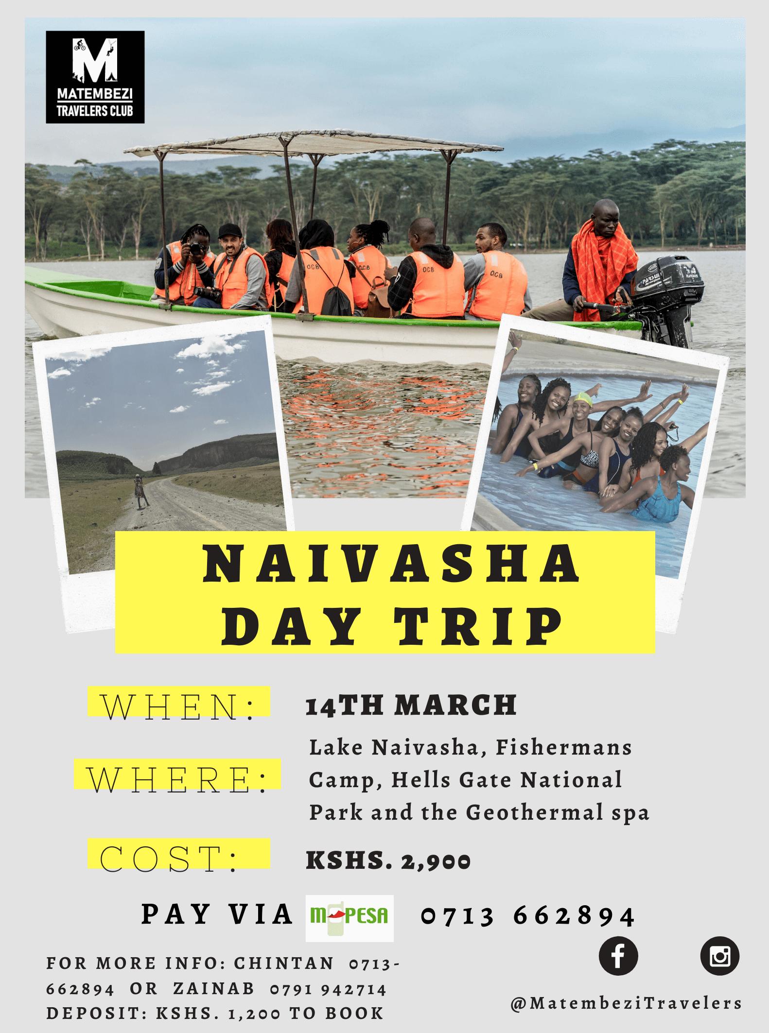 Naivasha Day Trip