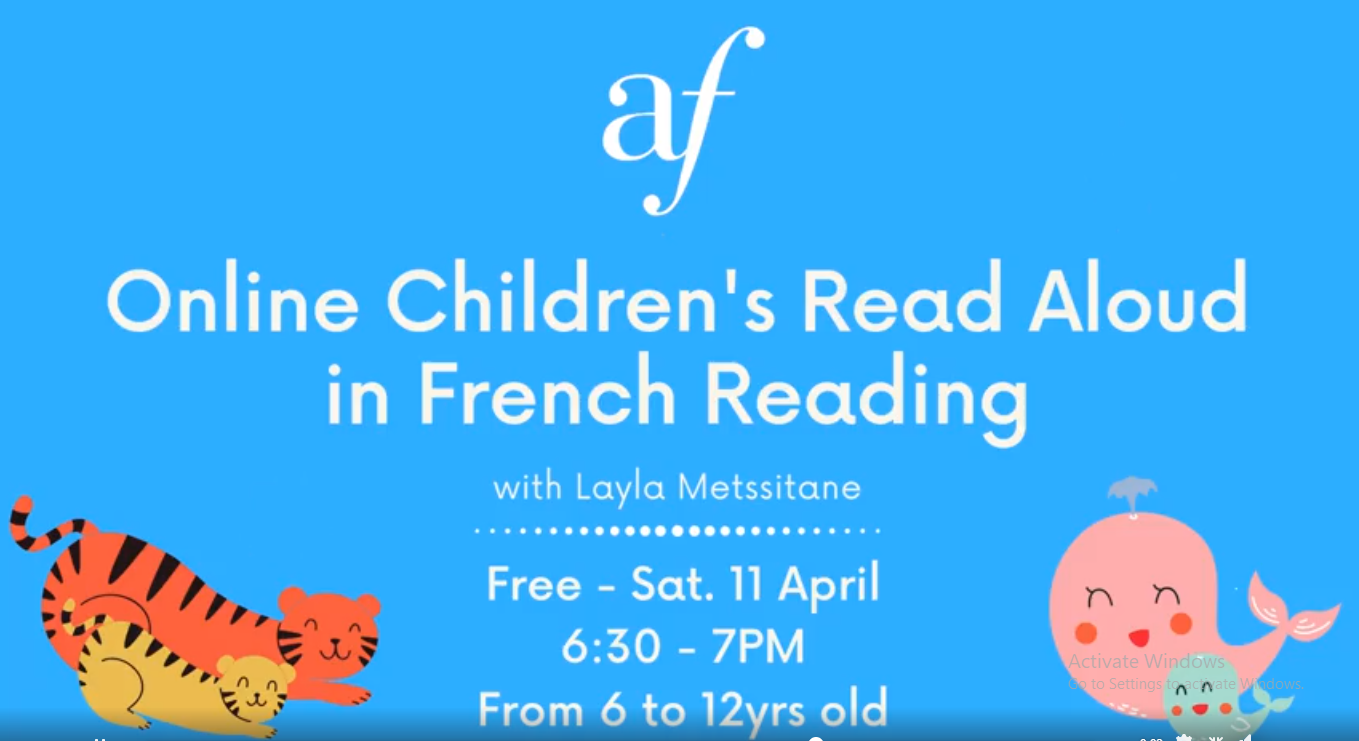 Online Children's Read Aloud in French