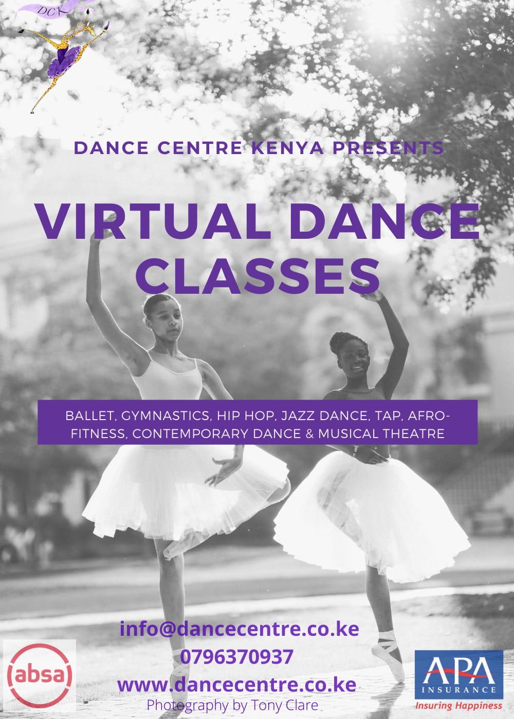 Dance Centre Kenya Virtual Dance Classes