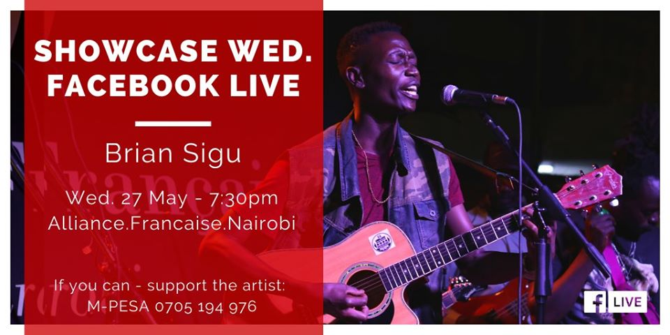 Showcase Wed. Facebook live with Brian Sigu