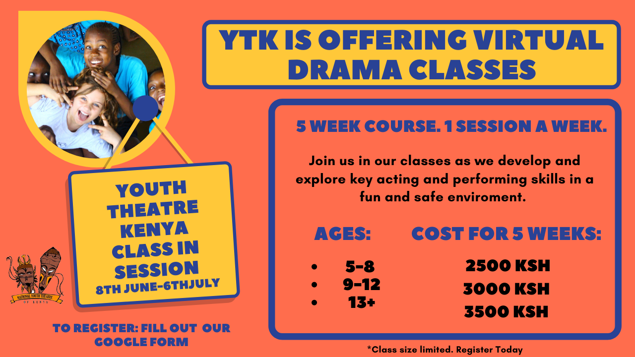 Youth Theatre of Kenya Virtual Classes