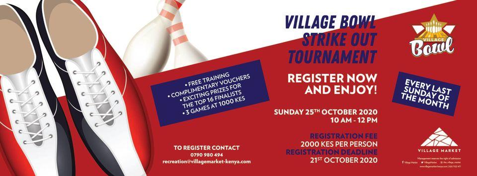 Village Bowl Strike Out Tournament
