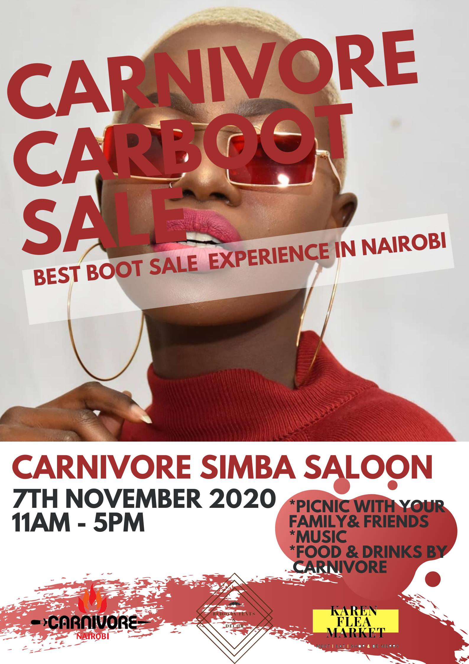 Carnivore Car Boot Sale