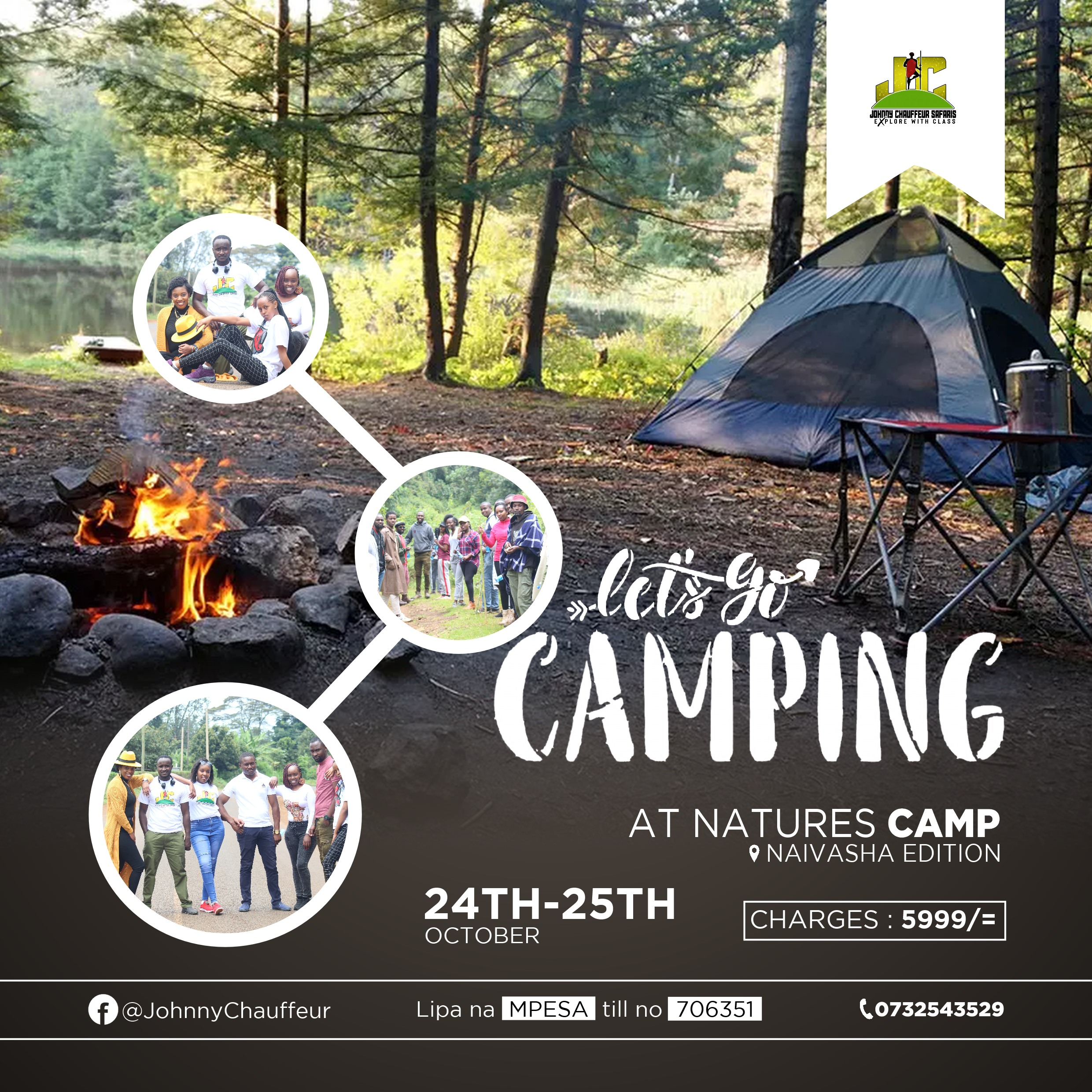 Natures Camp Naivasha Edition