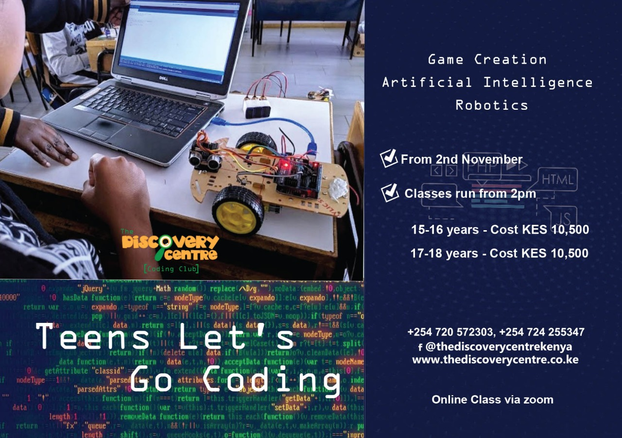 Teens Let's Go Coding