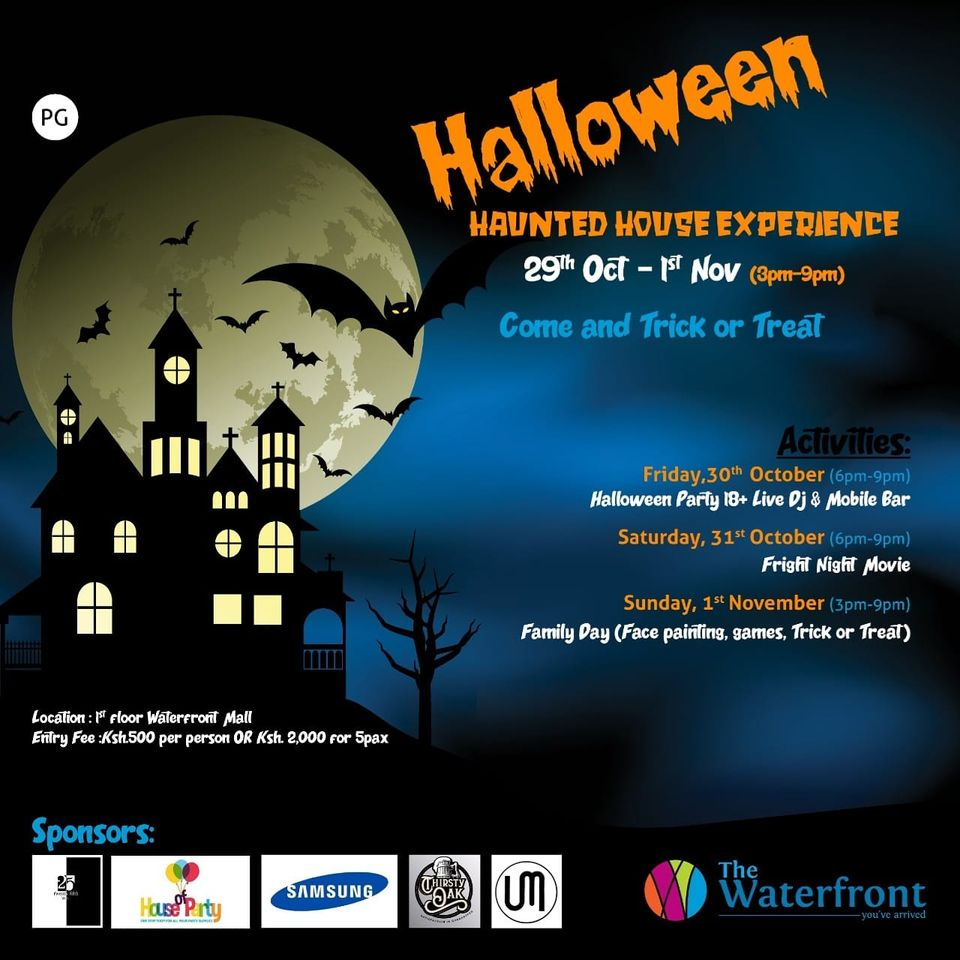 Halloween Haunted House Experience