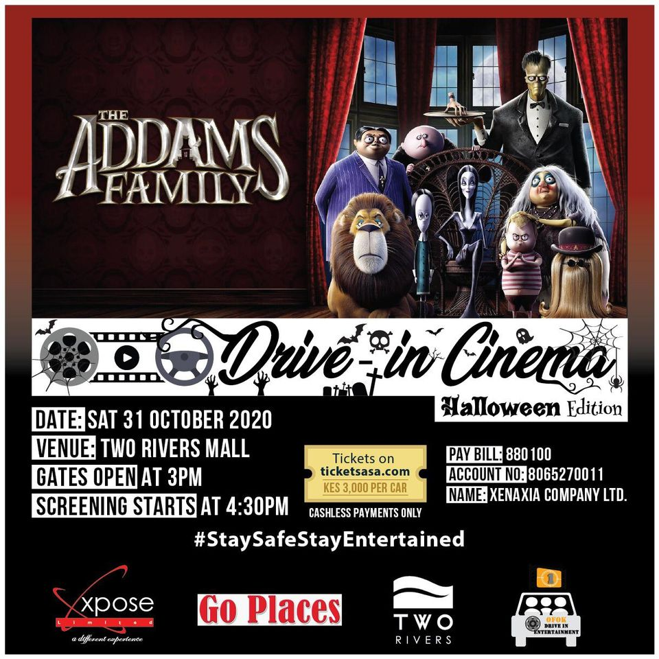 Drive In Cinema - Halloween Edition