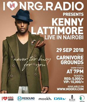 Kenny Lattimore Live in Nairobi
