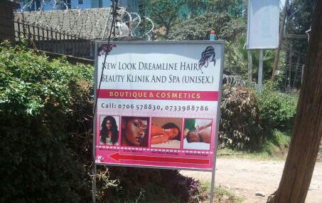 New Look Dreamline Salon