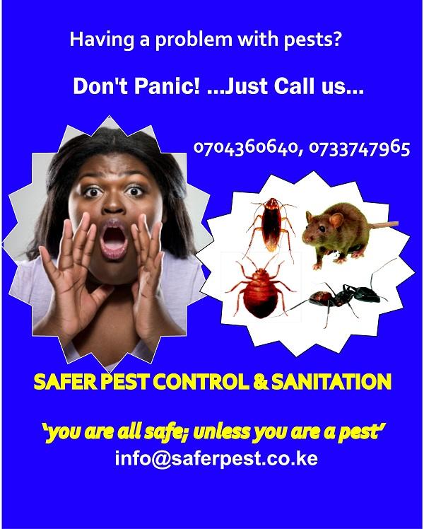 Safer Pest Control & Sanitation