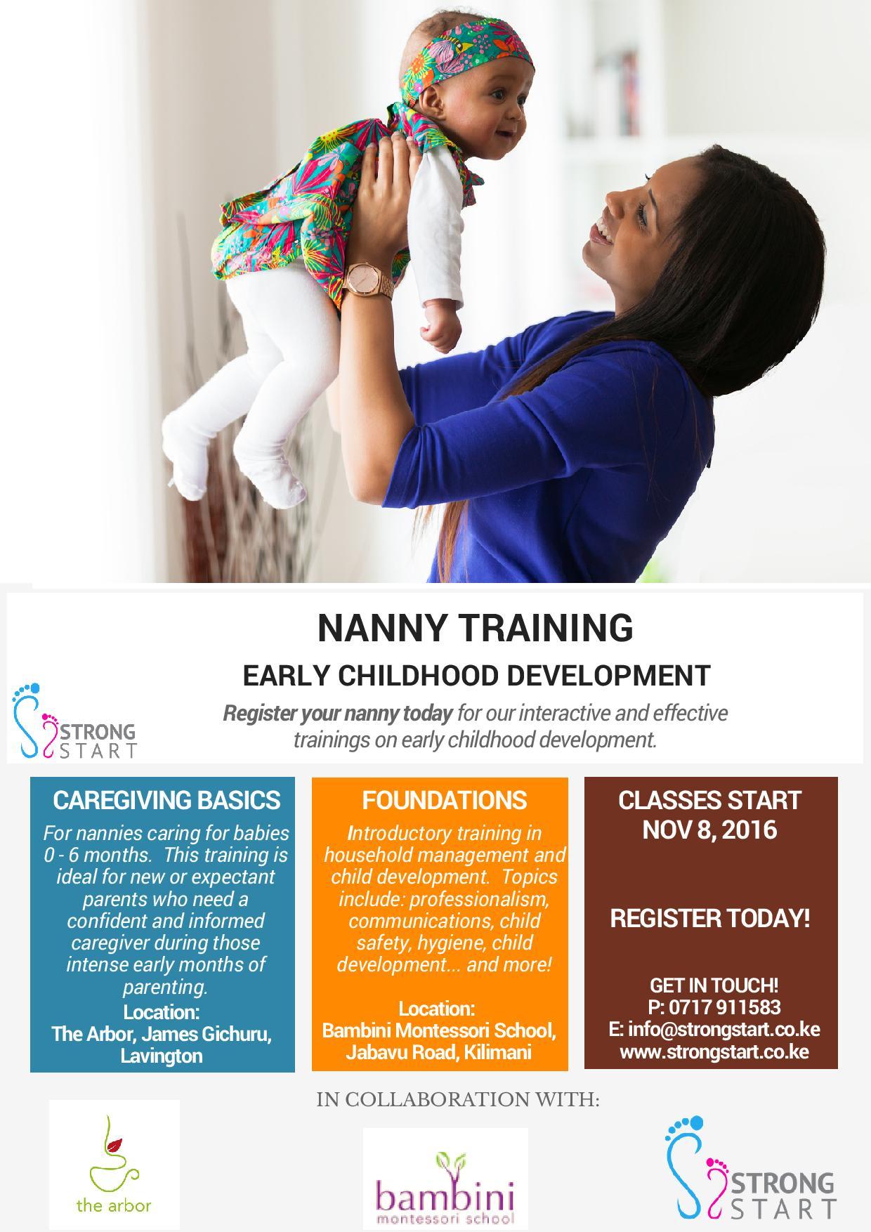Strong Start: Child Development Training
