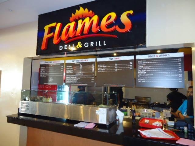 Flames Deli & Grill