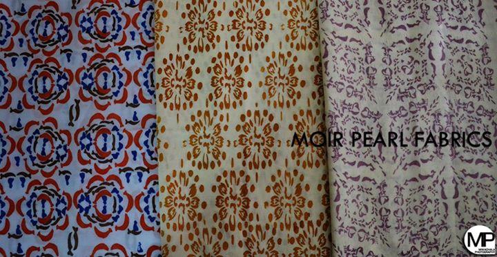 Moir Pearl Fabrics
