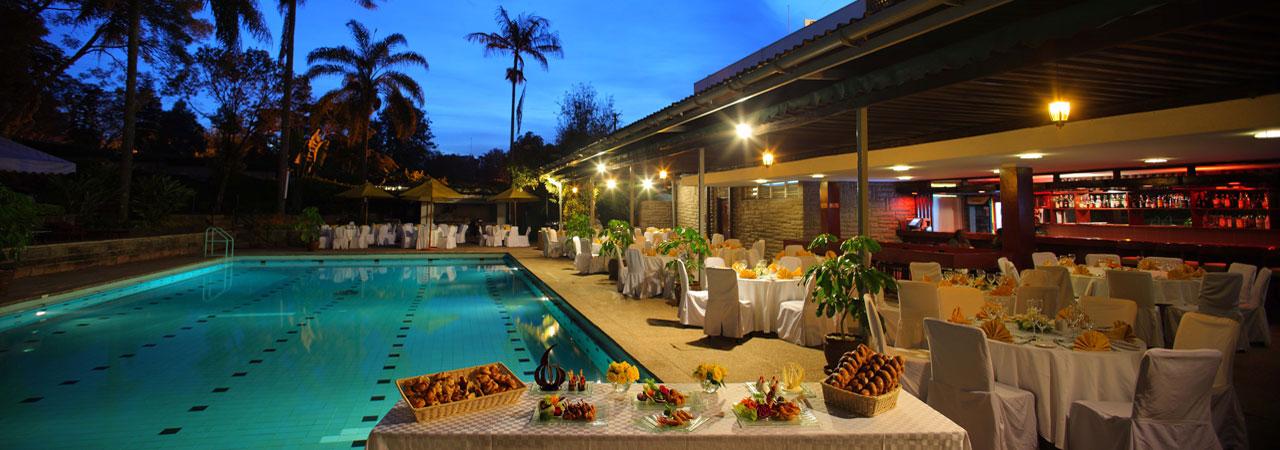 Sarova Panafric Pool Garden
