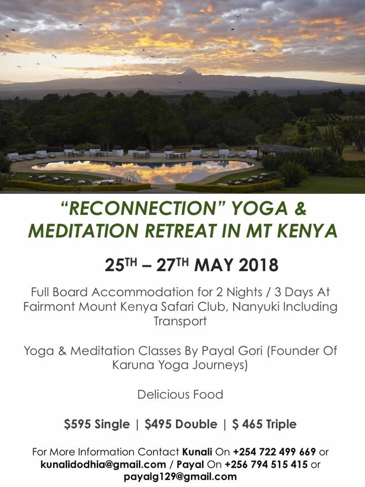 Reconnection Yoga & Meditation Retreat