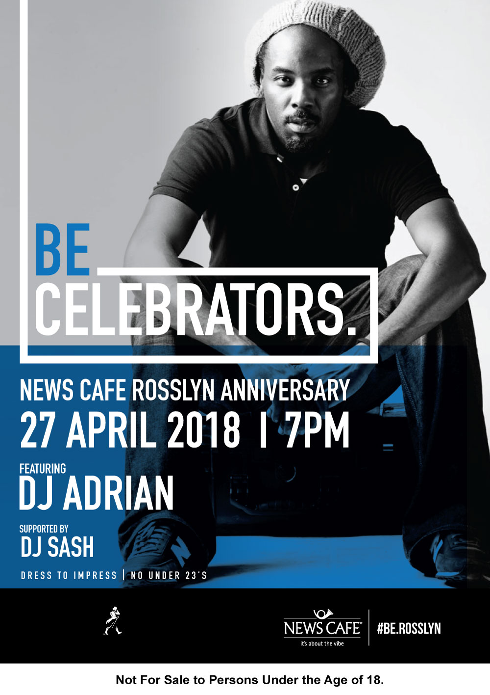 News Cafe Rosslyn Anniversary Party with DJ Adrian