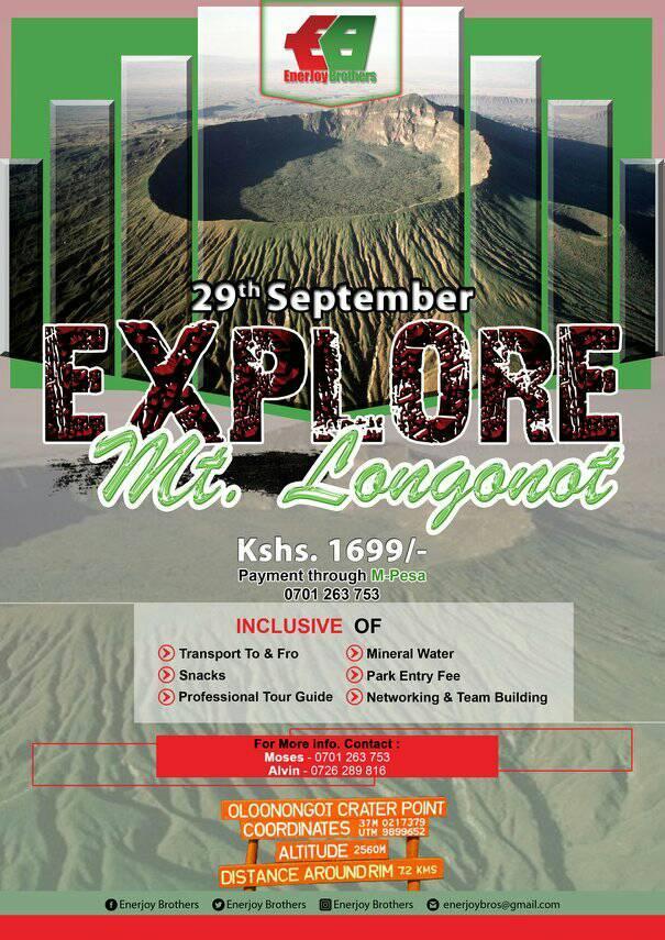 Explore Mt. Longonot