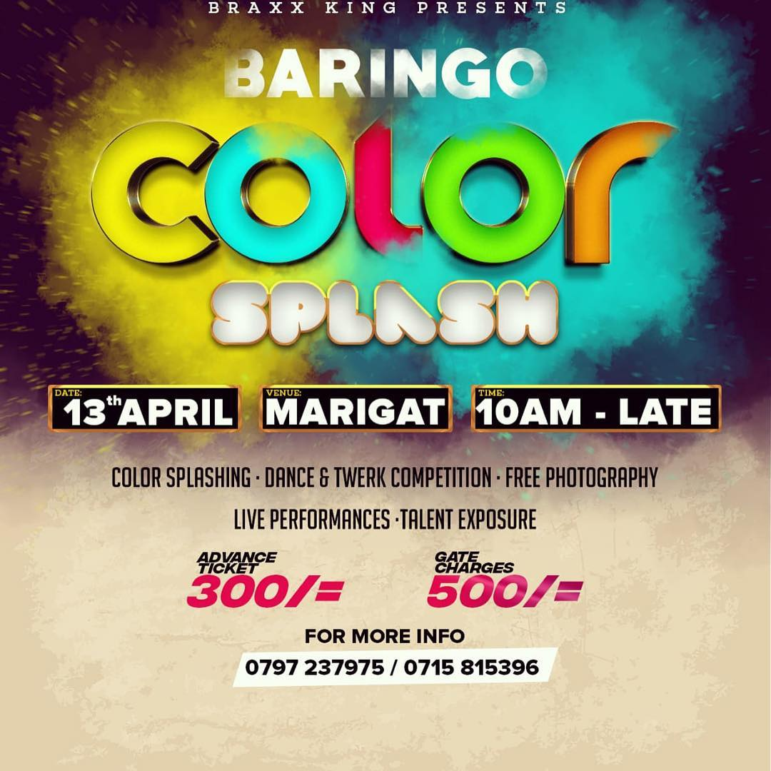 Baringo Color Splash