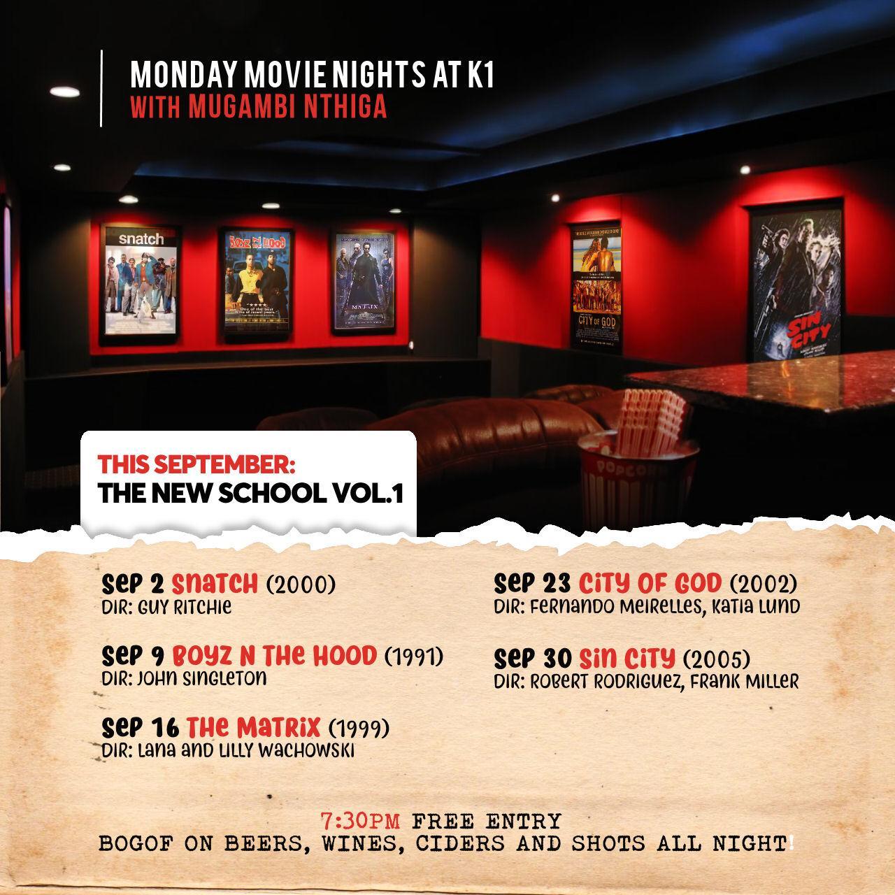 Monday Movie Night
