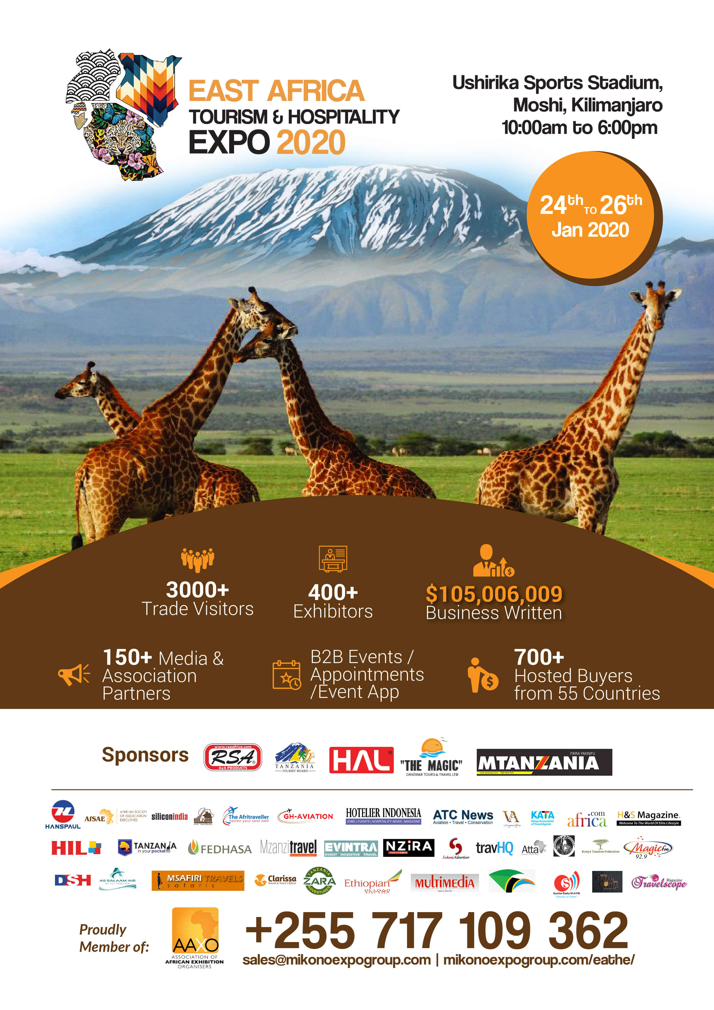 East Africa Tourism and Hospitality Expo 2020