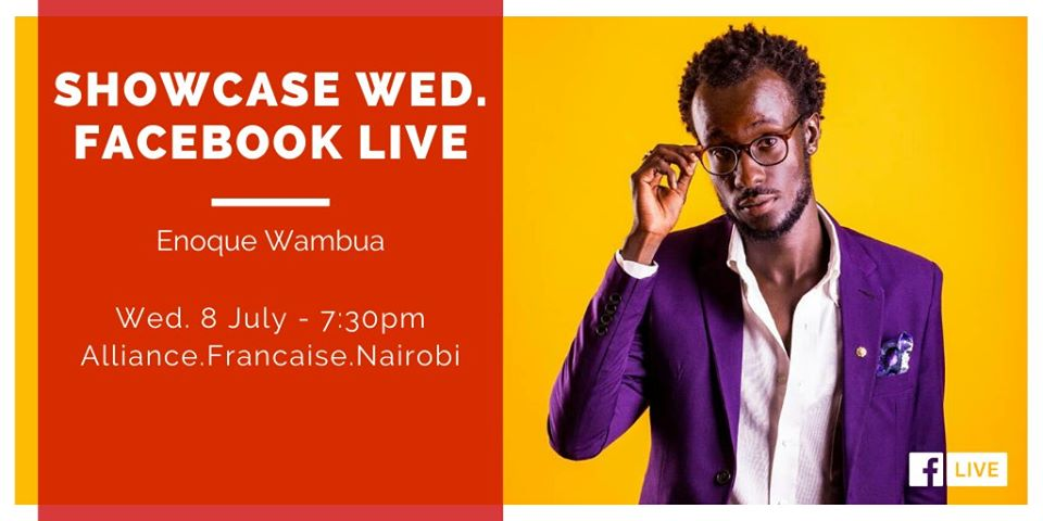 Showcase Wed. with Enoque Wambua