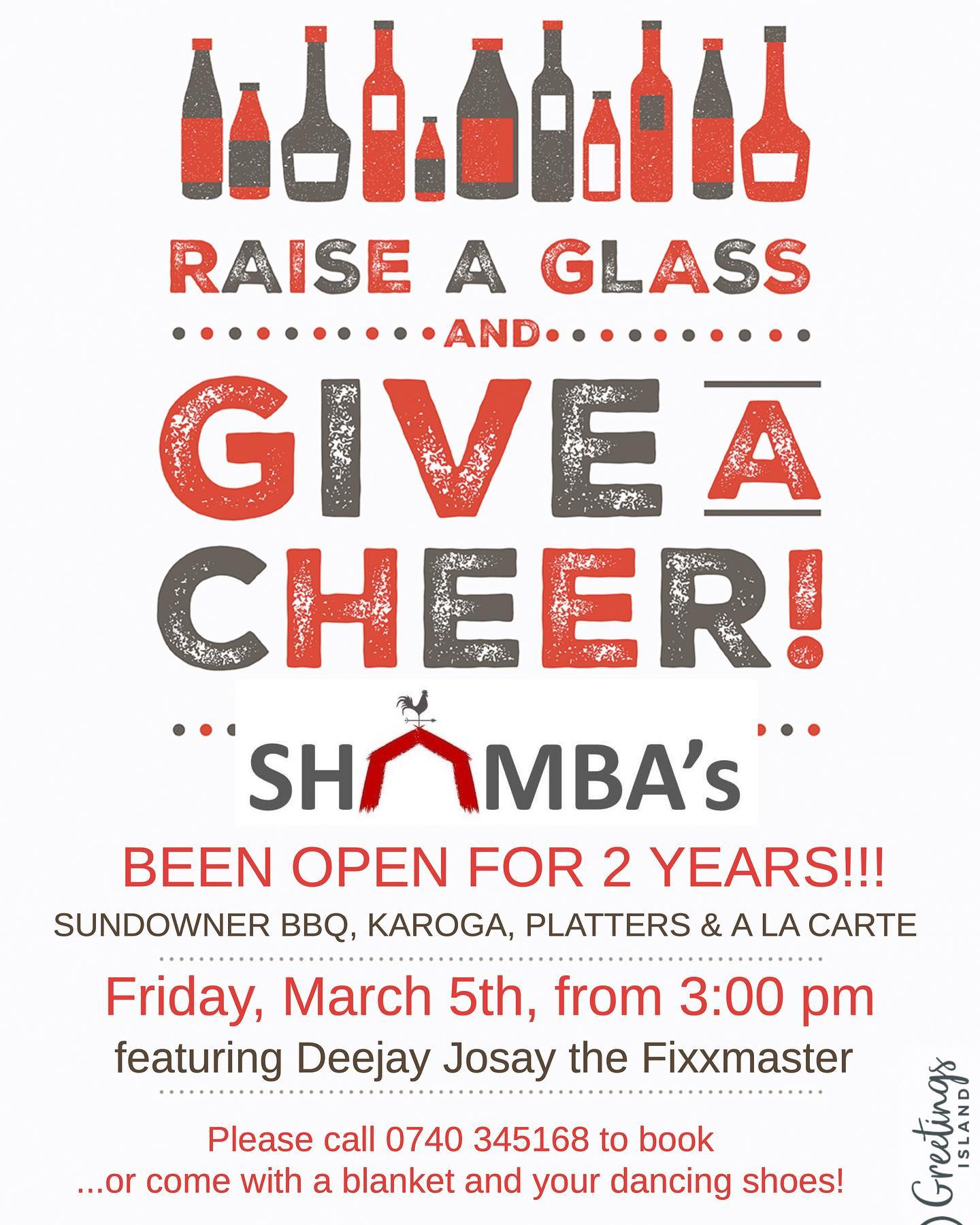 Raise a Glass and Give a Cheer