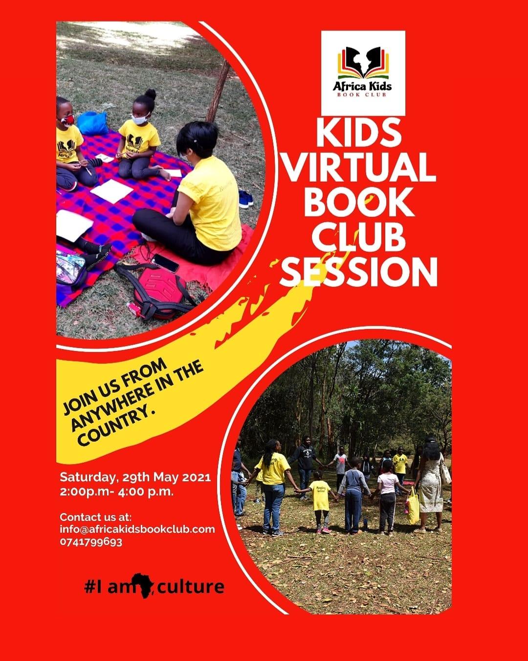 Kids Virtual Book Club Session