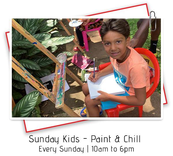 Sunday Kids Paint & Chill